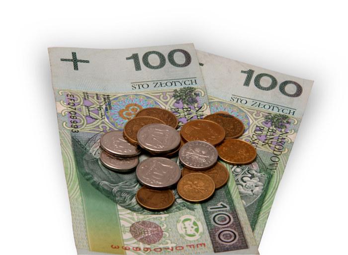 pieniądze z długu - monety i banknoty